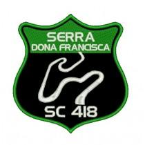 Patch Viagem Serra Dona Francisca - SC 418 - Verde