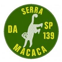 Patch Viagem Serra Da Macaca - SP 139 Verde