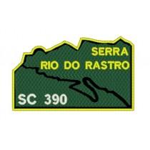 Patch Viagem Serra do Rio do Rastro SC 390 Verde