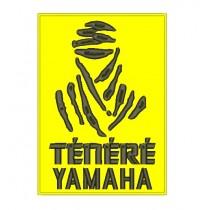 Patch Moto Yamaha Ténéré Amarelo