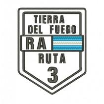 Patch Viagem Tierra Del Fuego Ruta 3