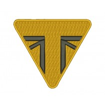 Patch Moto Triumph Gold