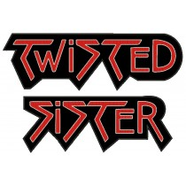 Patch Grande Twisted Sister - Logo