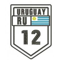 Patch Viagem Uruguay Ruta 12