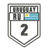 Patch Viagem Uruguay Ruta 2