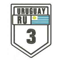 Patch Viagem Uruguay Ruta 3