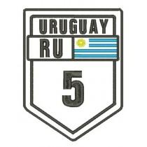 Patch Viagem Uruguay Ruta 5