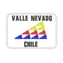 Patch Viagem Valle Nevado - Chile