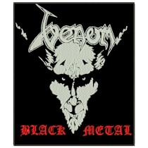 Patch Grande Venom - Black Metal