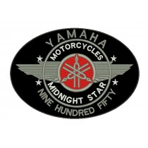 Patch Moto Yamaha Midnight Star Grande