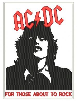 Patch Grande AC/DC Angus
