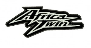 Patch Moto Honda Africa Twin Black