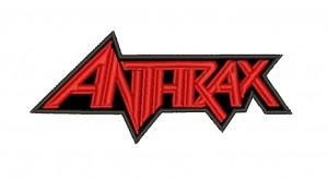 Patch Anthrax Vermelho