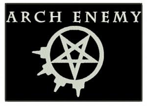 Patch Grande Arch Enemy Pentagrama