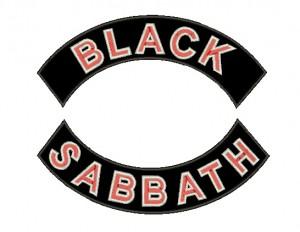 Patch Grande Black Sabbath