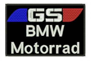 Patch Moto BMW Motorrad Grande