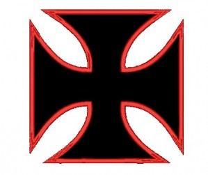 Patch Grande Cruz de Malta