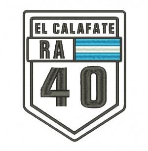 Patch Viagem Argentina El Calafate Ruta 40
