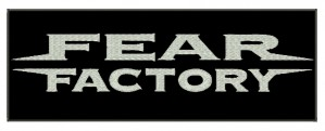 Patch Grande Fear Factory