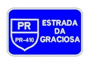 Patch Viagem Estrada Serra da Graciosa