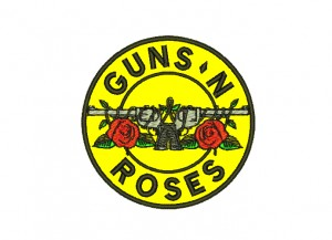 Patch Guns N Roses Logo