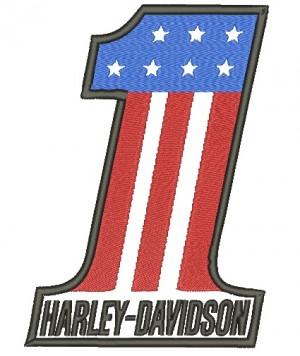 Patch Moto Harley Davidson One Grande