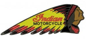 Patch Moto Indian Classic Grande