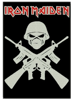 Patch Grande Iron Maiden - Eddie Soldier
