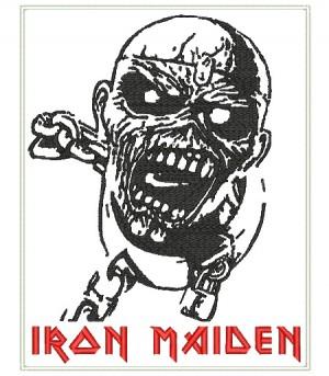 Patch Grande Iron Maiden - Piece Of Mind