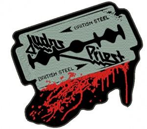 Patch Grande Judas Priest - British Steel