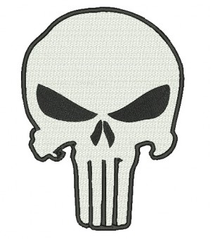 Patch Grande Justiceiro (Backpatch)