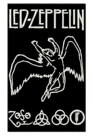 Patch Grande Led Zeppelin
