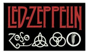 Patch Grande Led Zeppelin Simbolo