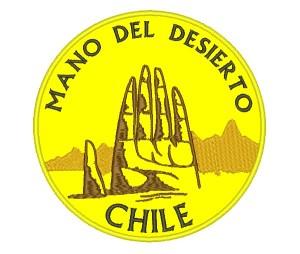 Patch Viagem Mão do Deserto Chile Atacama