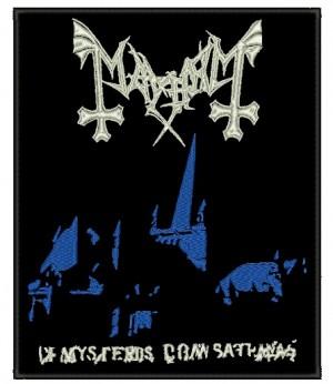 Patch Grande Mayhem - De Mysteriis Dom Sathanas