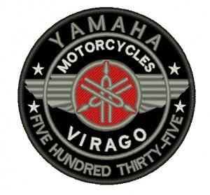 Patch Moto Virago 535