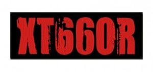 Patch Moto Yamaha XT 660R Vermelho Grande