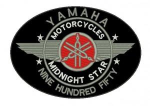 Patch Moto Yamaha Midnight Star Grande