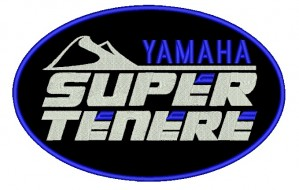 Patch Moto Yamaha Super Tenere Grande